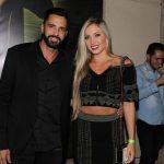 Latino e sua atual namorada, Jéssica Rodrigues. Foto - Ag News.