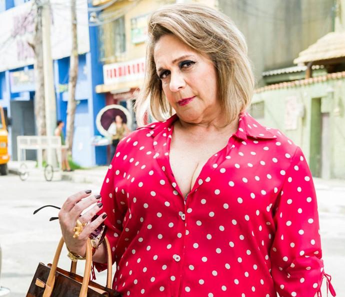 A atriz Fafy Siqueira. (Foto: João Miguel Júnior/Globo)
