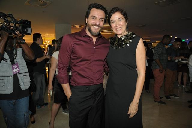 Rodrigo Lombardi e Lilia Cabral (Foto: Globo/João Miguel Junior)