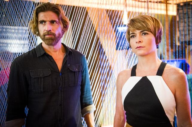 Pedro (Reynaldo Gianecchini) e Helô (Claudia Abreu) (Foto: Globo/João Miguel Júnior)