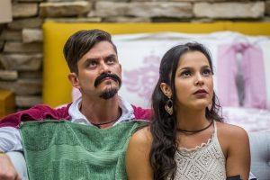 """Marcos e Emilly no """"BBB17"""" (Foto: Globo/Paulo Belote)"""