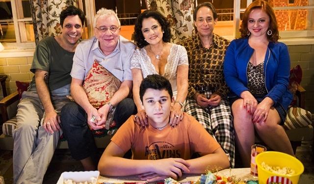 """Elenco de """"A Grande Família"""" no último episódio inédito (Foto: Globo/João Miguel Júnior)"""