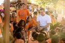Luciano Huck durante reportagem produzida em Inajá, Pernambuco (Foto: Globo/Marcello Roichman)