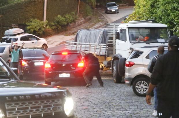 Segurança de Justin Bieber (Foto: Divulgação)
