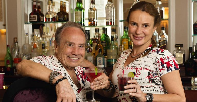 Stênio Garcia e Marilene Saade (Foto: Divulgação)