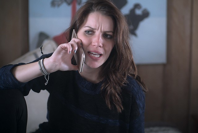 Lorena morrerá após assaltar uma joalheria. (Foto: TV Globo)