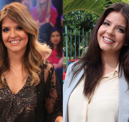 Mariana Santos no antes e depois. (Foto: Gshow)