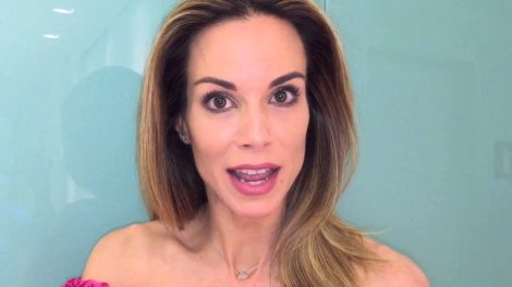Ana Furtado antes da mudança (Foto: Reprodução/Youtube)