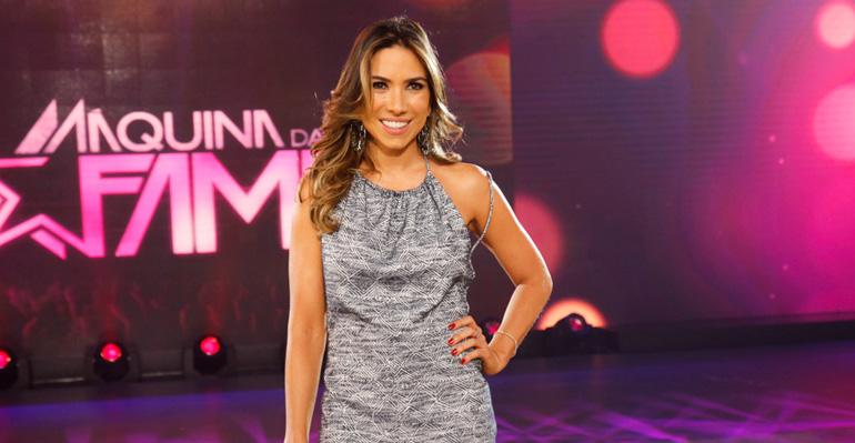 A apresentadora Patrícia Abravanel. (Foto: Divulgação/SBT)