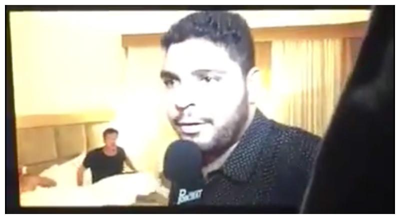 Paulo Vieira flagra Porchat na cama com outro homem (Foto reprodução)