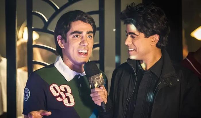 Marcelo Adnet e Marcius Melhem no Tá no Ar (Foto: Divulgação)