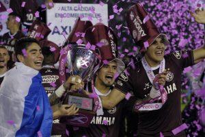 Lanús é o atual campeão argentino. (Foto: Divulgação)
