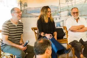 Autores Júlio Fischer, Suzana Pires e Walther Negrão. (Foto: Divulgação)