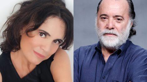 """Regina e Tony serão os protagonistas de """"Tempo de Amar"""". (Foto: Divulgação/Rádio Globo/UOL)"""