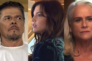"""Tião (José Mayer), Marina (Alice Wegmann) e Magnólia (Vera Holtz) em """"A Lei do Amor"""" (Foto: Reprodução/Divulgação/Globo)"""
