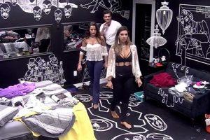Todos os brothers se mudam para o quarto preto Imagem: Reprodução/TV Globo