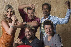 Elenco do 'Zorra' (Foto: Globo/Estevam Avellar)