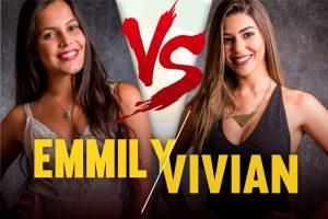 Emilly e Vivian (BBB17) (Foto: Reprodução)