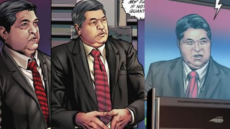 Datena é retratado em série da DC Comics