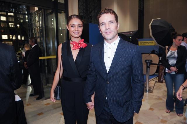 """Daniel Oliveira e Sophie Charlotte no lançamento de """"Os Dias Eram Assim (Foto: Globo/João Miguel)"""