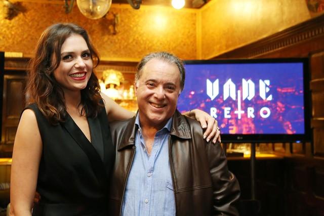 Monica Iozzi e Tony Ramos são os protagonistas de 'Vade Retro' (Foto: Carol Caminha/ Gshow)