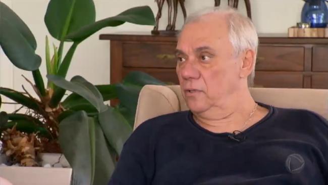 """Marcelo Rezende em entrevista ao """"Domingo Espetacular"""" (Foto: Reprodução/Record)"""