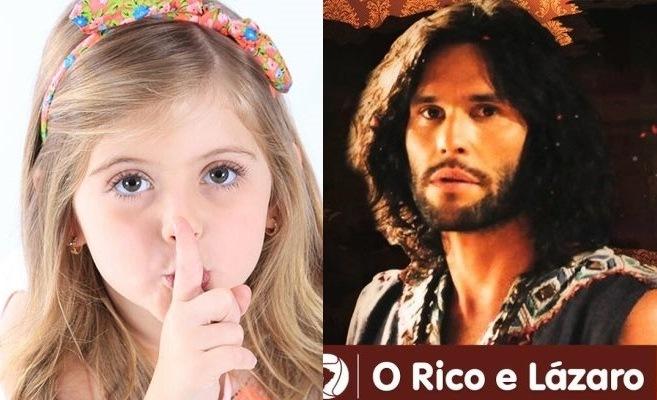 """Protagonistas de """"Carinha de Anjo"""" e """"O Rico"""". Foto - montagem."""