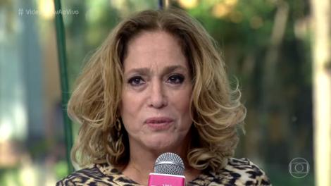 """Susana Vieira no """"Vídeo Show"""" (Foto: Reprodução/Globo)"""