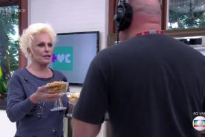 """Ana Maria faz teste com cinegrafistas no """"Mais Você"""" (Foto: Reprodução/Globo)"""