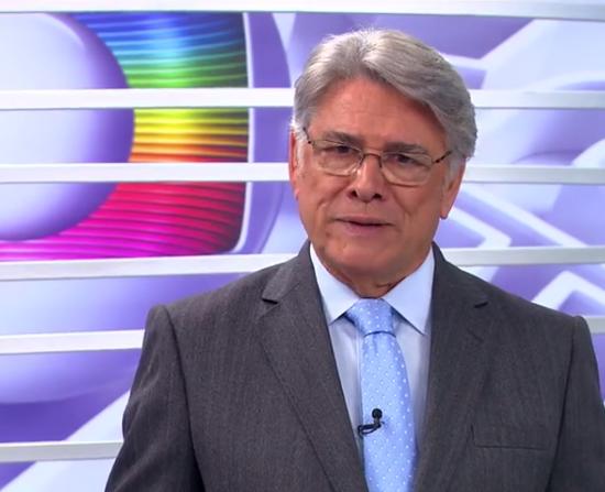 """Sergio Chapelin no comando do """"Globo Repórter"""" (Foto: Reprodução/Globo)"""