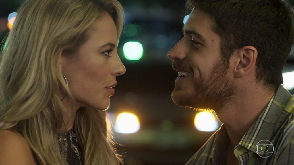 """Jeiza (Paolla Oliveira) e Zeca (Marco Pigossi) em cena de """"A Força do Querer"""" (Foto: Reprodução/Globo)"""