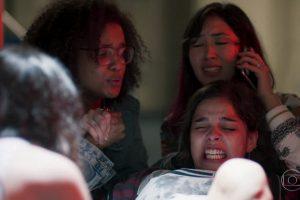 """Cena do parto no metrô que movimentou a estreia de """"Malhação: Viva a Diferença"""" (Foto: Reprodução/Globo)"""