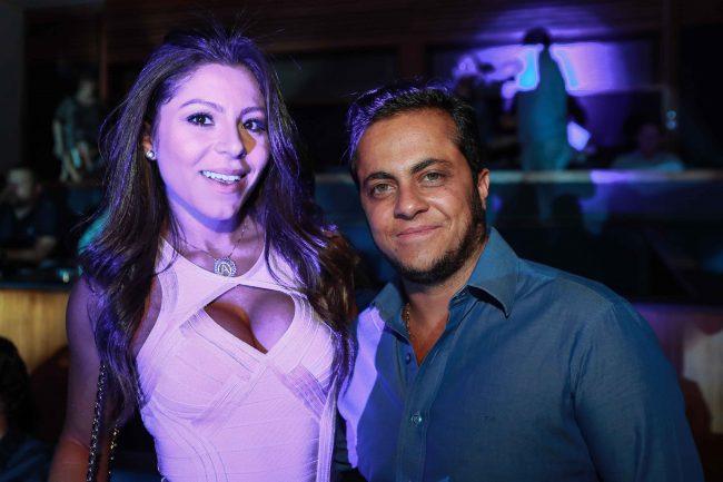 Thammy Miranda com a namorada Andressa Ferreira (Raphael Castello/AgNews)