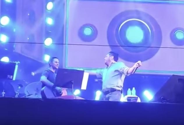 Bruno, que faz dupla com Marrone, teria se apresentado bêbado em festival (Foto reprodução)