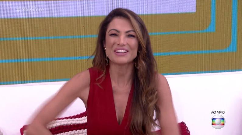Patrícia Poeta vai apresentar o Mais Você ao lado de Fabrício Battaglini (Foto: Reprodução/Globo)