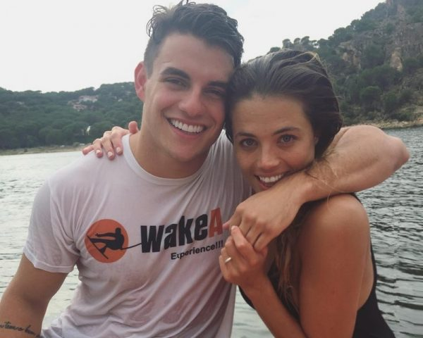 Antônio não está mais namorando com campeã do Gran Hermano (Foto: Reprodução)