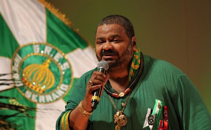 O cantor Arlindo Cruz. (Foto: Divulgação)