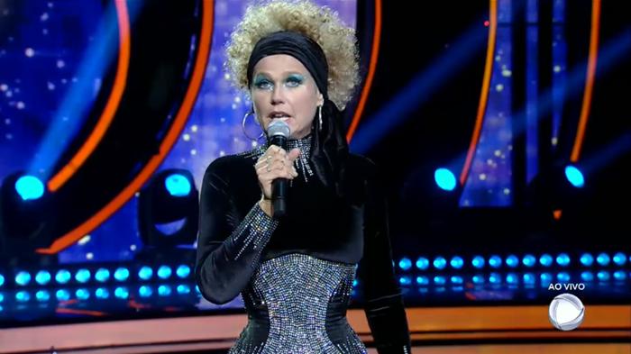 "Xuxa Meneghel no ""Dancing Brasil"" (Foto: Reprodução/Record)"