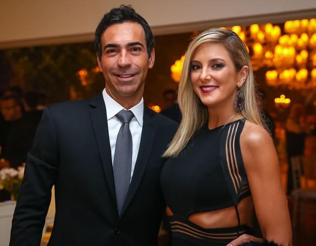 César Tralli e Ticiane Pinheiro (Foto: Raphael Castello/AgNews)