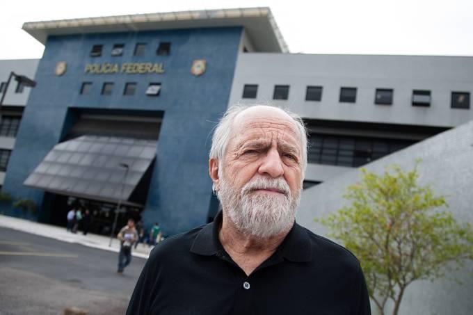 Ator Ary Fontoura como Lula. Foto - divulgação.