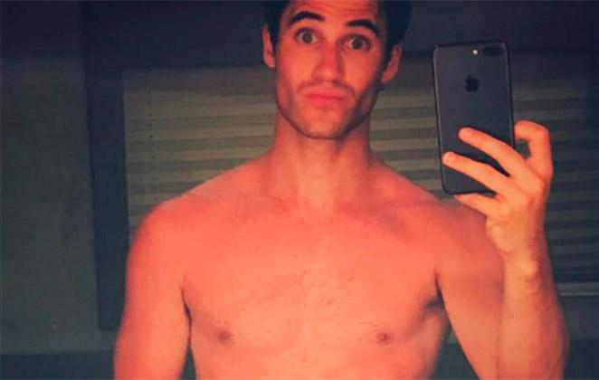 Ex-ator de 'Glee' posta nude no Instagram e deixa fãs eufóricos