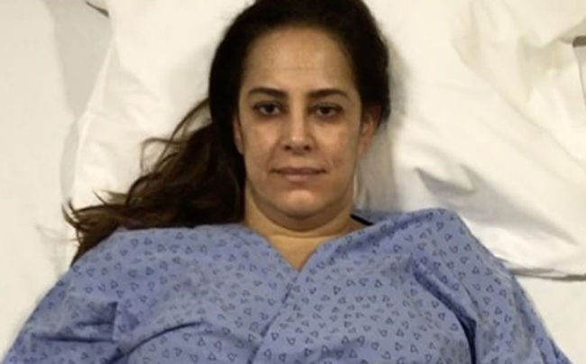 Silvia Abravanel está internada com embolia pulmonar