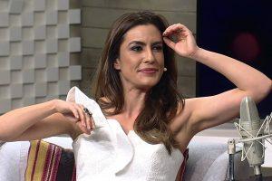 Ticiana Villas Boas voltou ao SBT com status de estrela (foto: Divulgação)