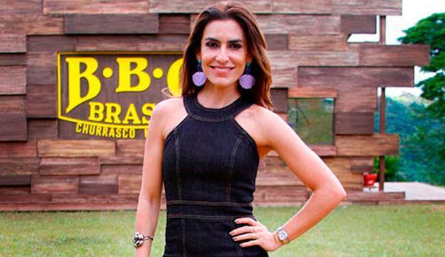 A apresentadora Ticiana Villas Boas. (Foto: SBT/Divulgação)