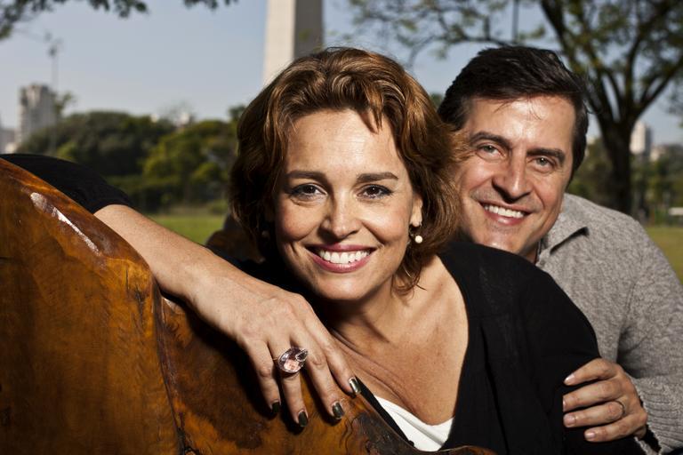 Suzy Rêgo e seu marido, Fernando Vieira. (Foto: Divulgação)