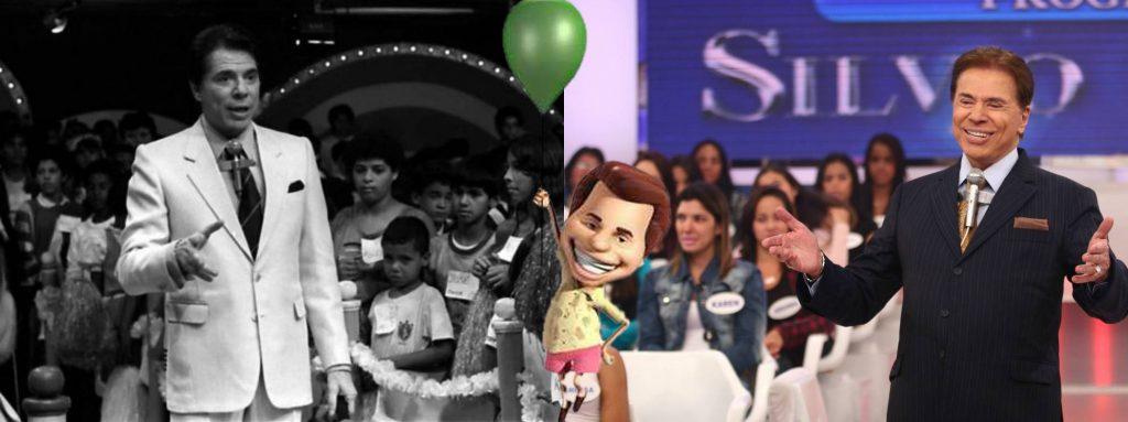 Programa Silvio Santos é um dos mais duradouros da nossa TV (Foto: Montagem/TV Foco)