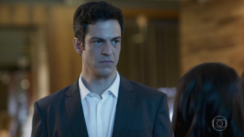 """Mateus Solano (Eric) em cena de """"Pega Pega"""" (Foto: Reprodução/Globo)"""