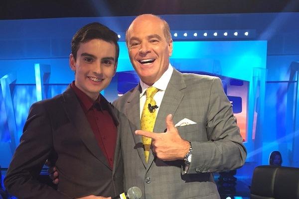 Dudu Camargo na RedeTV!. Foto - divulgação.