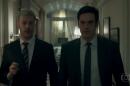 """Guilherme Weber (Douglas) e Mateus Solano (Eric) em cena de """"Pega Pega"""" (Foto: Reprodução/Globo)"""