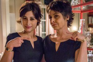 Angélica (Drica Moraes) e Afrodite (Luisa Arraes) (Foto: Globo/Paulo Belote)